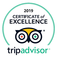 Penvith Barns has been awarded a Trip Advisor Certificate of Excellence 2019